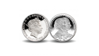 Platinum Wedding Photographic Collection Pure Silver Coin