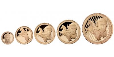 Wellington 250 Five coin Sovereign Set