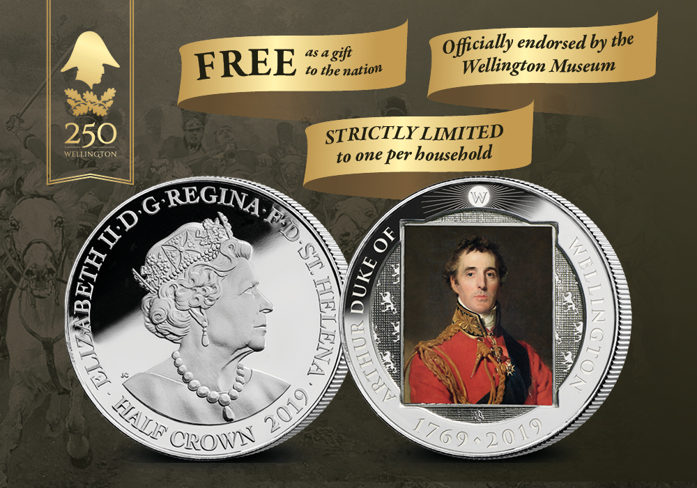 The Official Wellington 250th Anniversary Coin