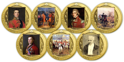 Official Wellington 250 Life and Legacy Commemorative Coin Set