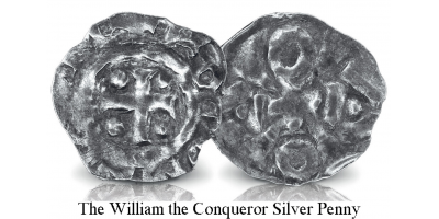 William the Conqueror and Robert Curthose Silver Pennies