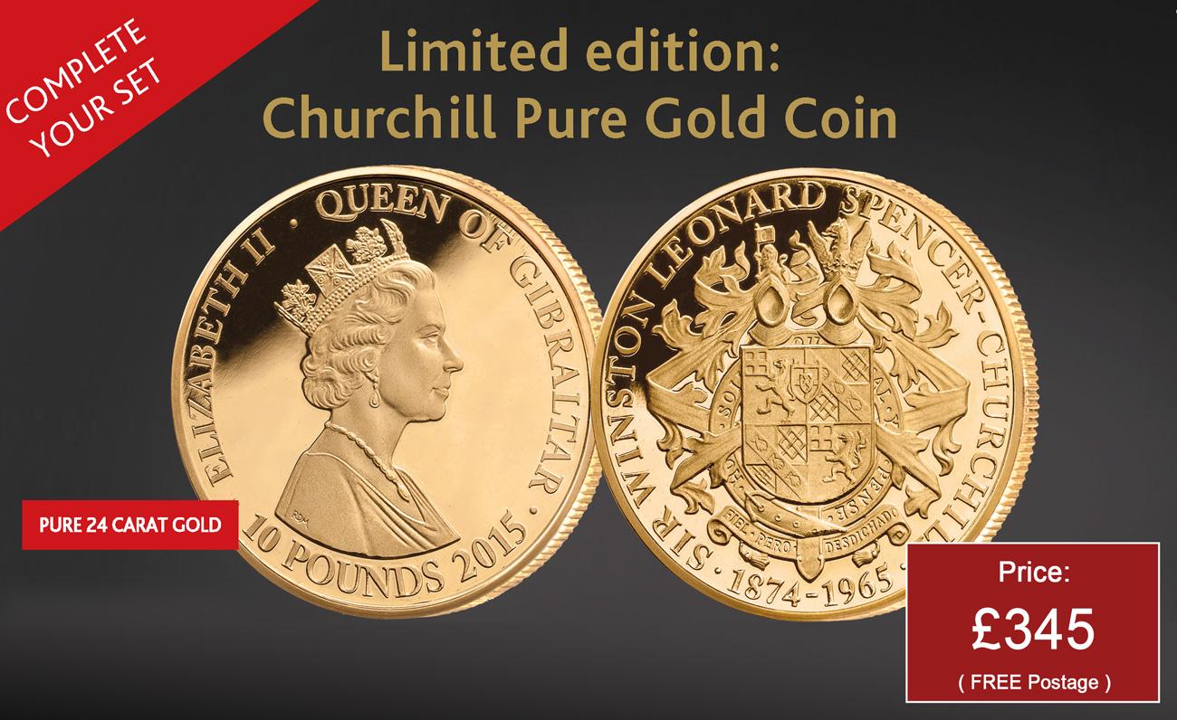 The Winston Churchill Family Crest Coin