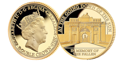 World War I Centenary In Memory of the Fallen Gold Coin