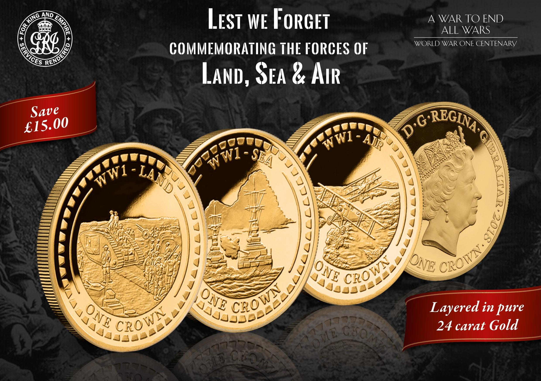 WW1 Centenary Coin 2018