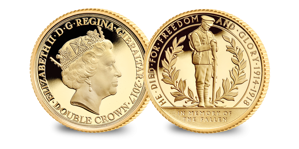 Limited Edition: World War One Centenary – The Lone Soldier Gold Coin