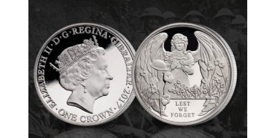 Battle of Ypres Centenary Coin 2017