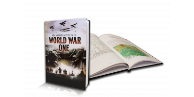The Key Battles and Events of World War I Hardback Book