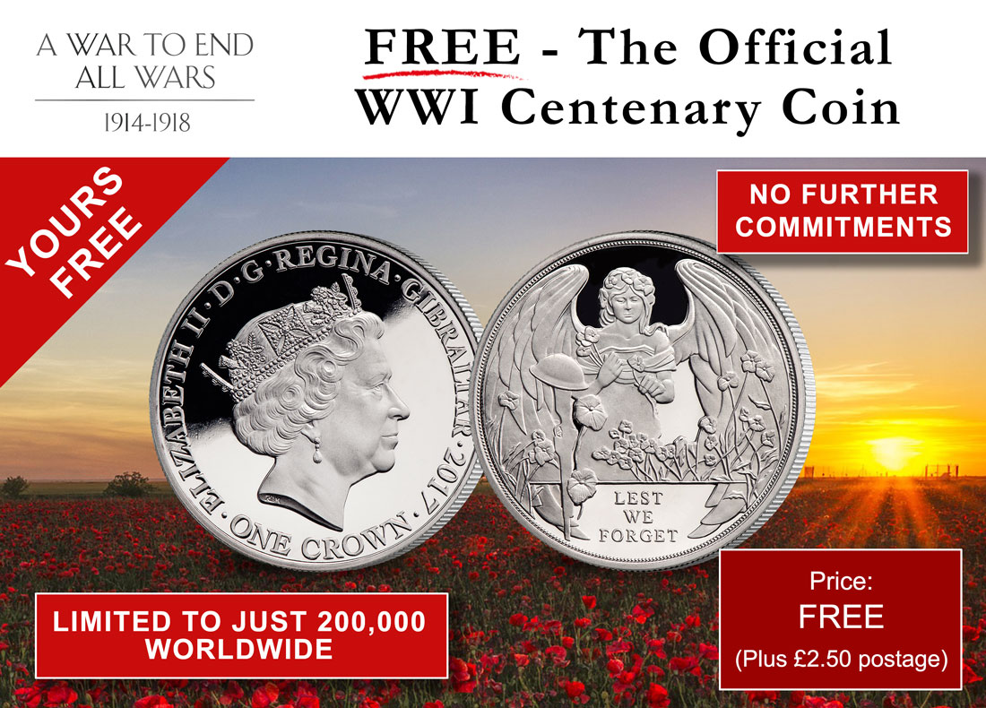 WWI Battle of Ypres Centenary Coin