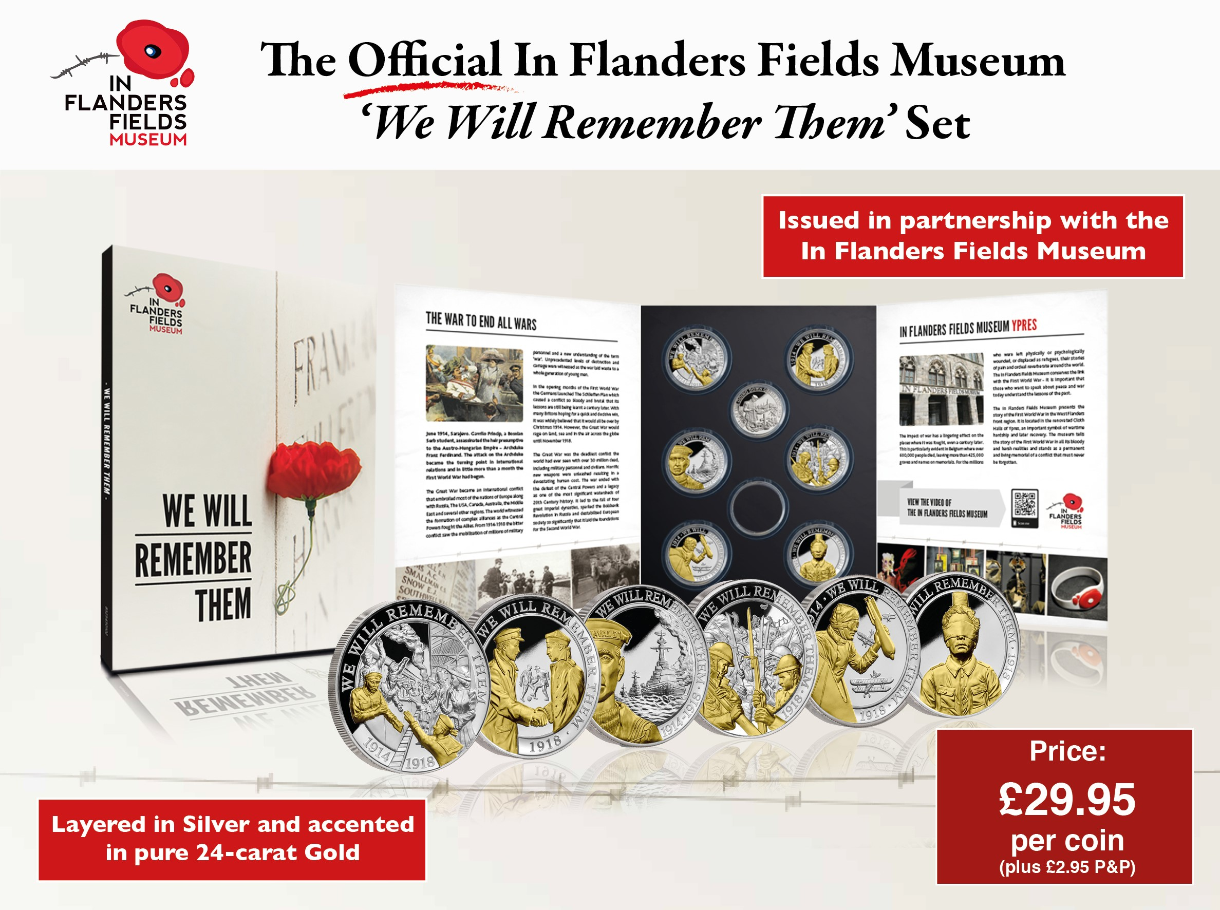 WWI Centenary IFFM Coin Collection