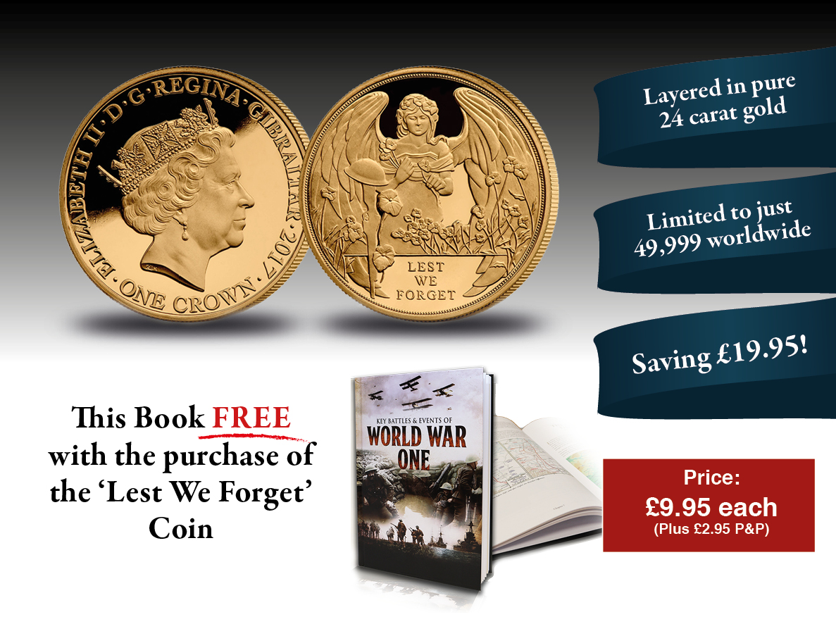 WWI Coin and Book Set