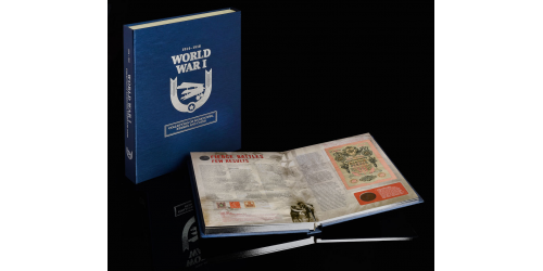 WWI collection Book Front THE FIRST WORLD WAR REMEMBERED