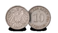 Germany 10 Pfennig  (1911)
