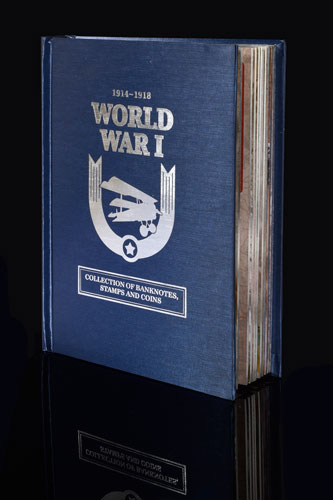 WWI Collection Book On Black THE FIRST WORLD WAR REMEMBERED