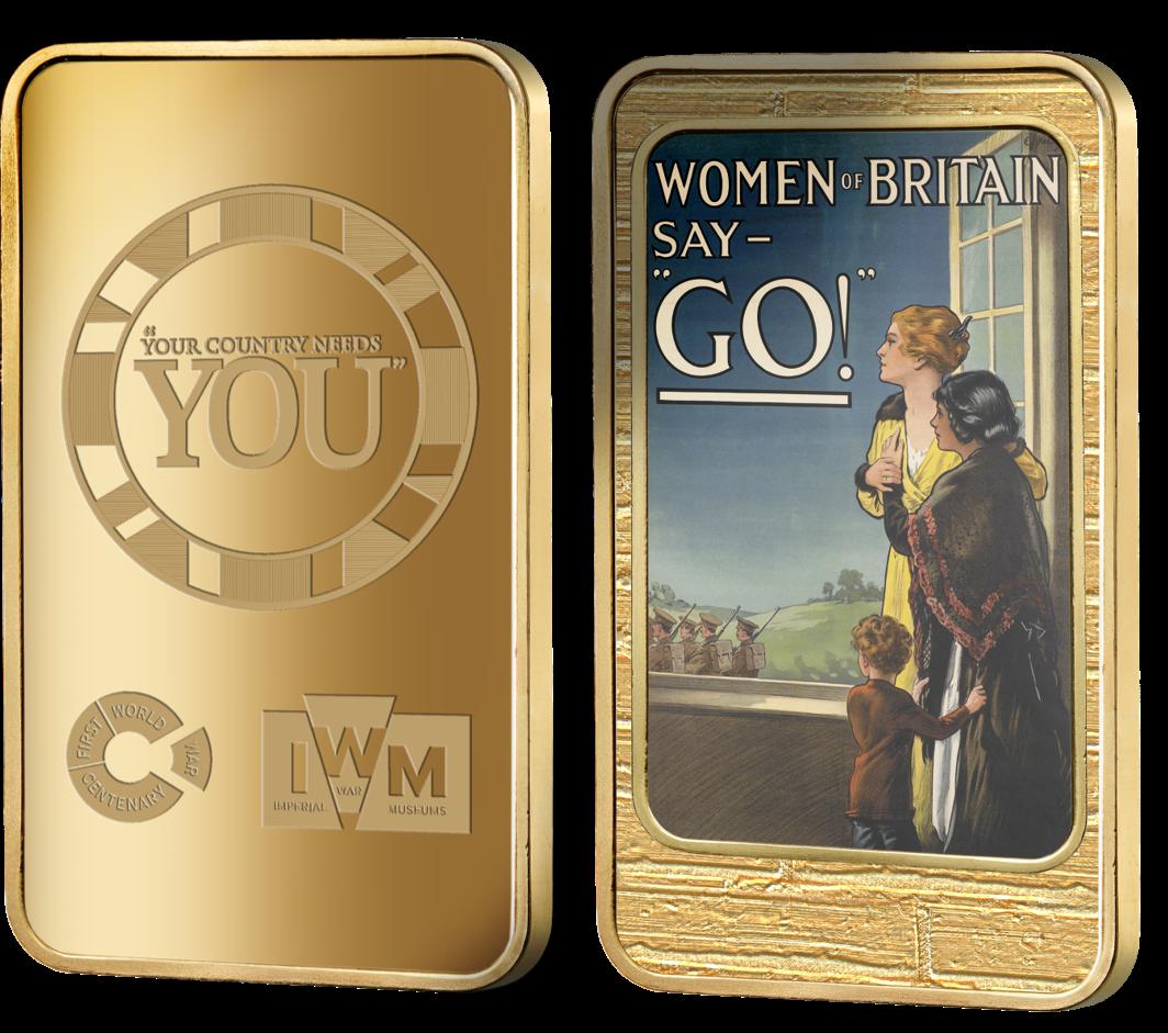 Women_of_Britain_Say_Go_IWM_Ingot